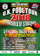 UK Pool Tour Entry Form
